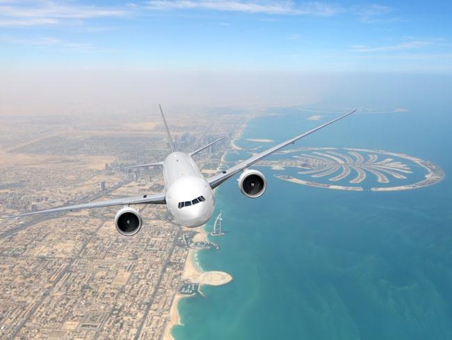 Världens tredje mest lönsamma flygsträcka är den mellan Dubai och London.