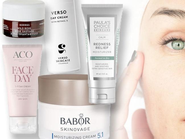 Bästa hudkrämen för torr hud