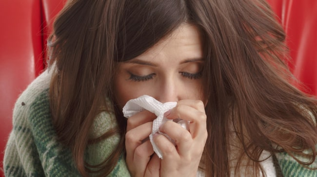 långvarig förkylning utan feber