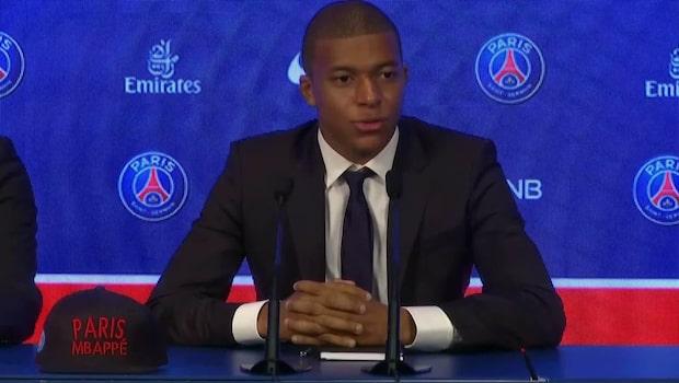 """Mbappe: """"Vill vinna titlar med PSG"""""""