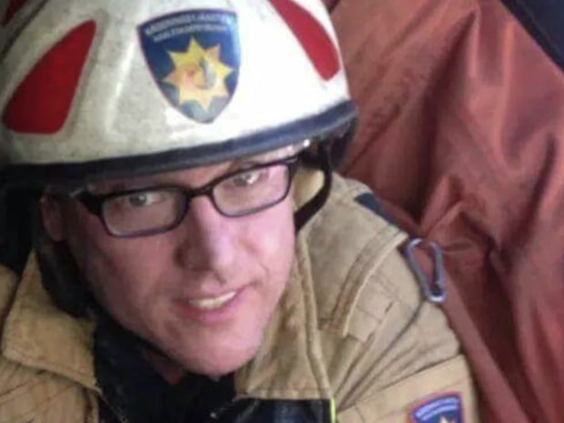 Brandmannen Andreas dog under insats i anlagd brand
