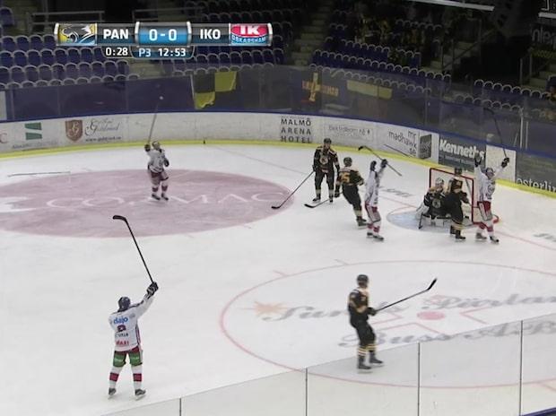 Höjdpunkter: Pantern – Oskarshamn 1–2