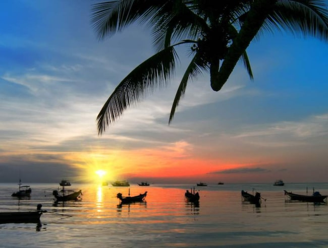 Flyg till Thailand  är billigast 24 veckor före avresa.