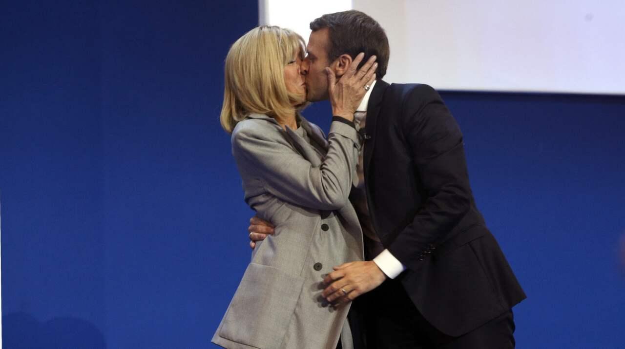 Emanuelle Macron har en 24 år äldre fru – Franska valet 2017