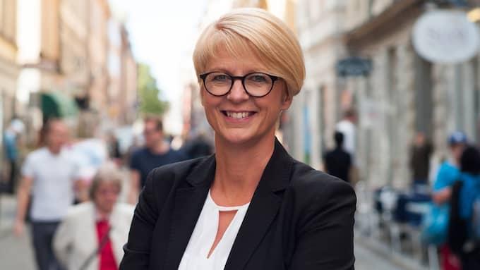 Elisabeth Svantesson (M), arbetsmarknadspolitisk talesperson. Foto: FREDRIK WENNERLUND / PRESSBILD