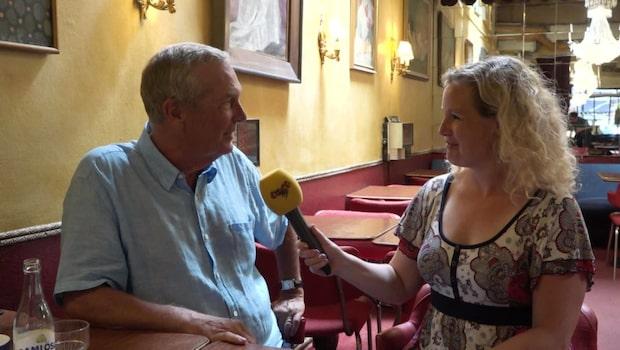 Claes Elfsbergs comeback i rutan - efter dotterns död
