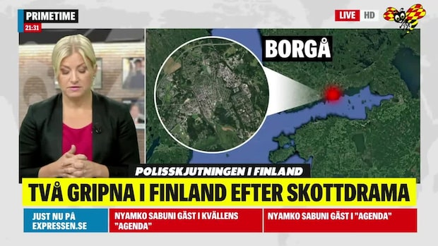 Misstänkta skyttarna greps i svensk bil, enligt TV4