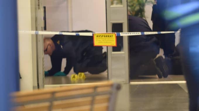 En 14-årig elev misstänks för dådet. Foto: Jens Christian/topnews.se