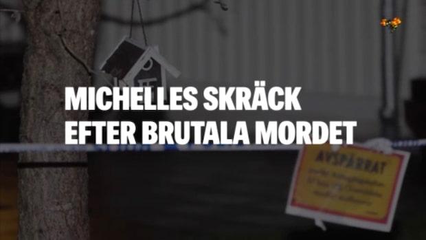 Michelles man mördades av vännen på familjemiddagen