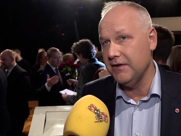 """Jonas Sjöstedt: """"SD är ett rasistiskt parti"""""""