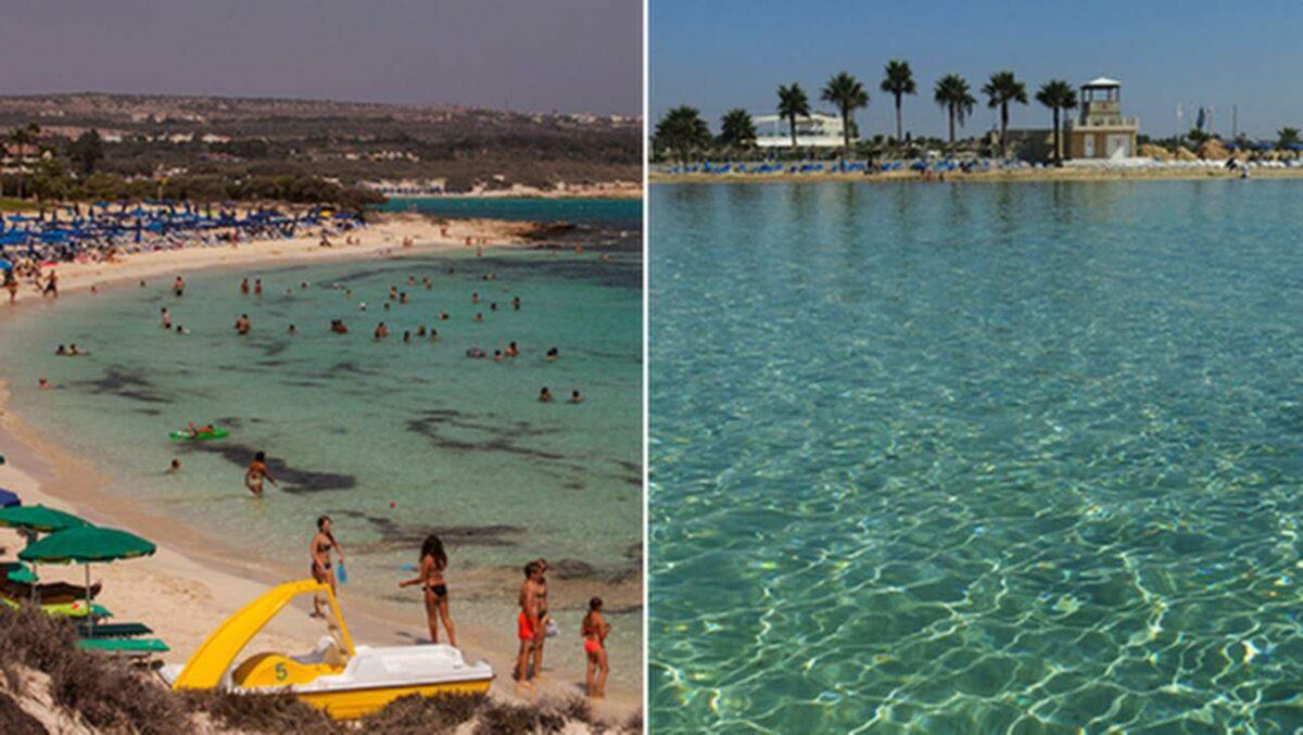 cyperns 15 bästa stränder