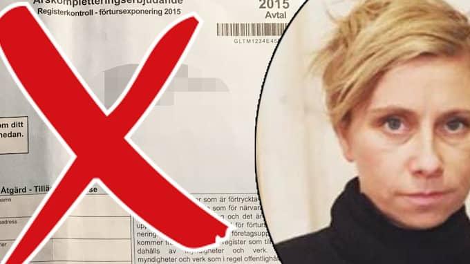 Frida Sundström är en av tusentals småföretagare som drabbats av bluffakturor.