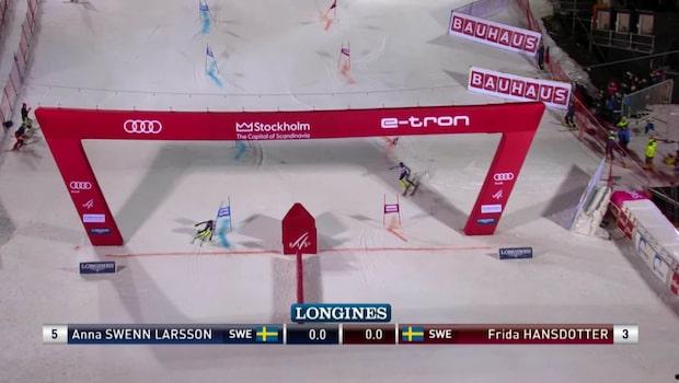 Swenn-Larsson trea - efter Hansdotters miss