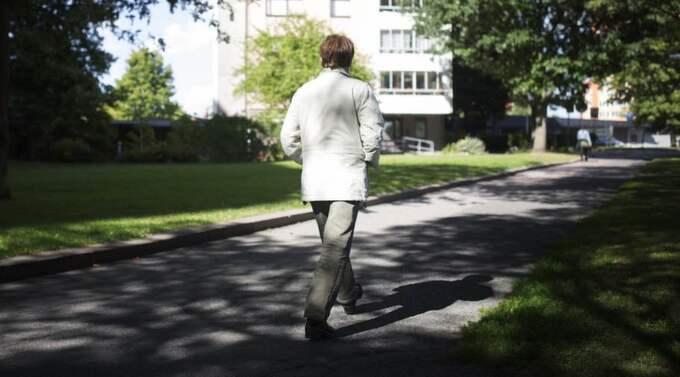 Avvisades. Anette Johansson sökte vård för sina magsmärtor men blev avvisad. Två dagar senare visade det sig att hon hade magsäckscancer. Foto: Anna Svanberg
