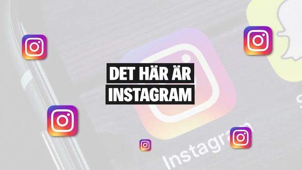 Det här är appen Instagram