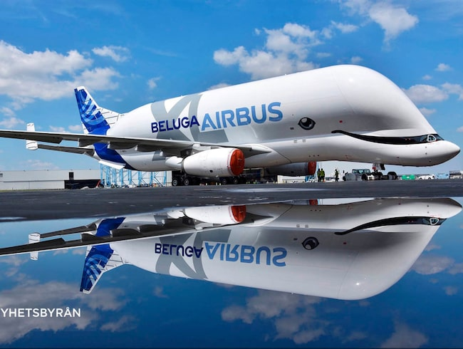 Airbus Transport International har presenterat sitt nya plan.