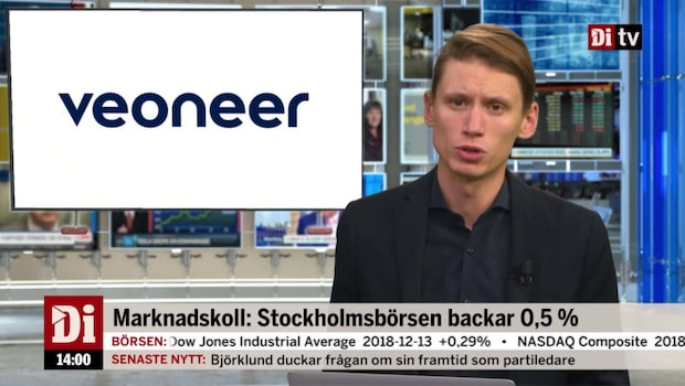 Di Nyheter 14.00 14 december - Veoneer faller 6 procent