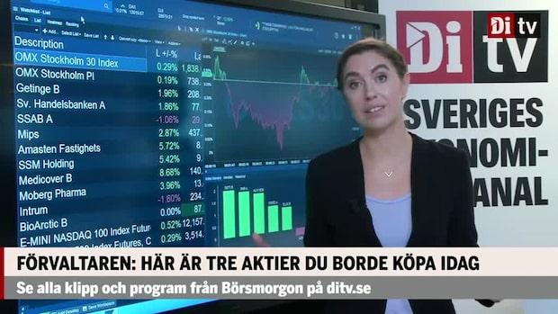 Marknadskoll: Storbolagsindex handlas uppåt – Getinge och Handelsbanken i topp