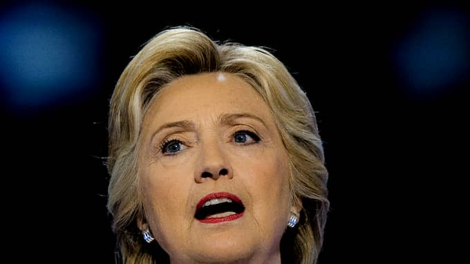 Hillary Clinton kallar nu Trump för rasist. Foto: MARK REINSTEIN/REX/SHUTTERSTOCK / MARK REINSTEIN/REX/SHUTTERSTOCK/ REX FEATURES
