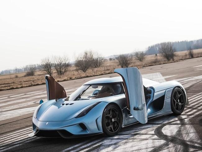 Koenigseggs nya hybridmodell Regera.