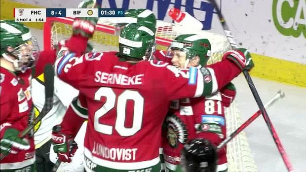 Highlights: Målkalas när Joel Lundqvist fyllde 1000