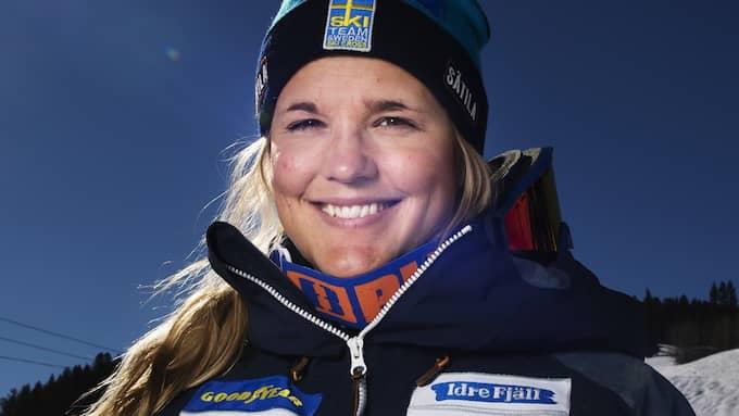 Förra året skadades Anna Holmlund svårt i en krasch i Italien. Foto: JOEL MARKLUND