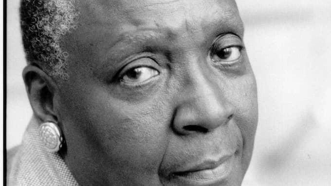 Maryse Condé är en av Kairibiens mest framstående författare. Foto: MERCURE DE FRANCE/LEOPARD FÖRLAG