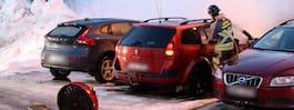 Ytterligare en bilbrand i Gävle