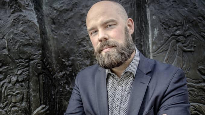 Daniel Suhonen, chef för idéinstitutet Katalys och medarbetare i Expressen Kultur. Foto: Tommy Pedersen