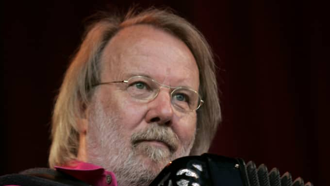 Benny Andersson. Foto: SARA PETTERSSON