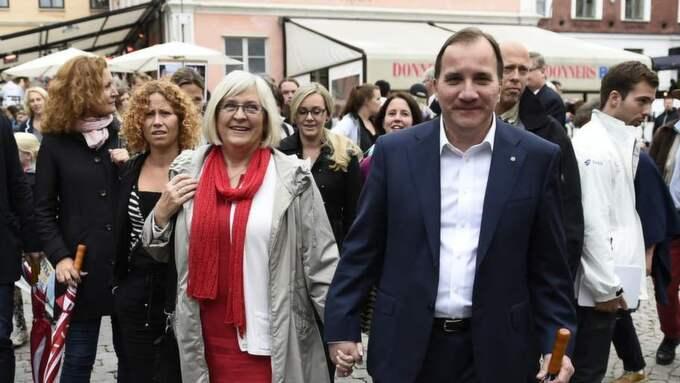 """Efter Expressens avslöjande om vilka som blir ministrar i en eventuell rödgrön regering säger Stefan Löfven surt: """"Det är jag som utser ministrarna. Efter valet."""""""