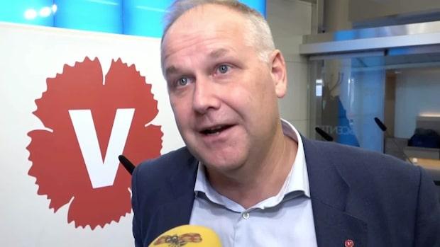 """Sjöstedts passning till Löfven: """"S har hamnat till höger om M och KD"""""""