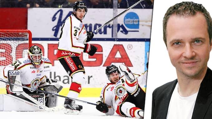 Luleå har kraschlandat i verkligheten, skriver Magnus Nyström