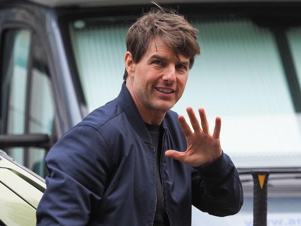 Tom Cruise första ord  om dottern – på flera år