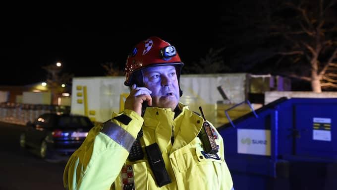 Roger Larsson, yttre befäl vid Sydöstra Skånes Räddningstjänstförbund. Foto: Anders Grönlund