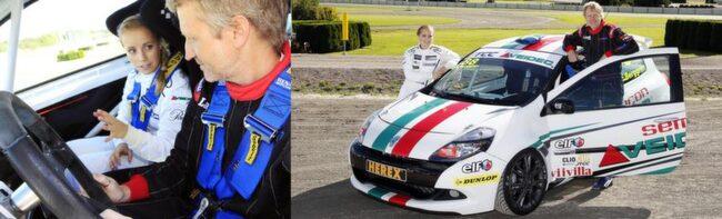 COACHAR. Duktiga racingtalangen Mikaela Åhlin försöker hjälpa Jan-Erik Berggren inför Solvalla-tävlingen.