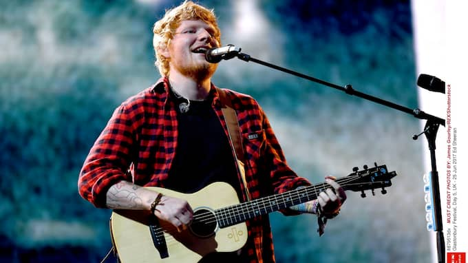 Biljetterna som säljs till Ed Sheerans konserter är personliga och kan endast användas av ursprungsköparen. Foto: JAMES GOURLEY/REX/SHUTTERSTOCK
