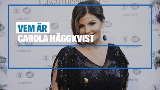 Vem är Carola Häggkvist?