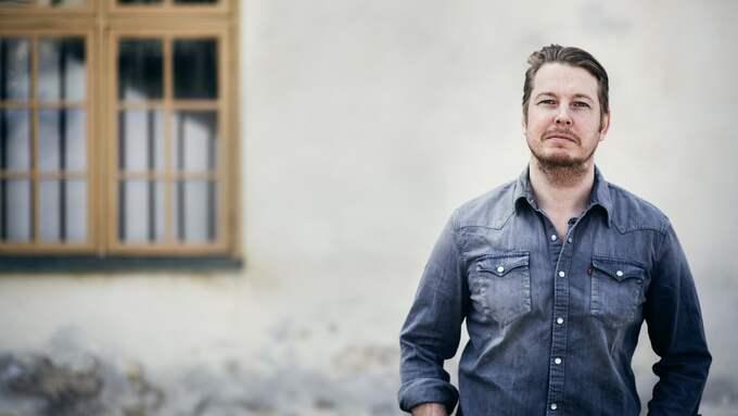"""Fredrik Backmans böcker, framförallt """"En man som heter Ove"""", har rönt enorma framgångar över hela världen. Foto: LINNÉA JONASSON BERNHOLM"""