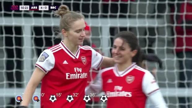 Arsenal-stjärnans kross: Gör sex av lagets elva mål
