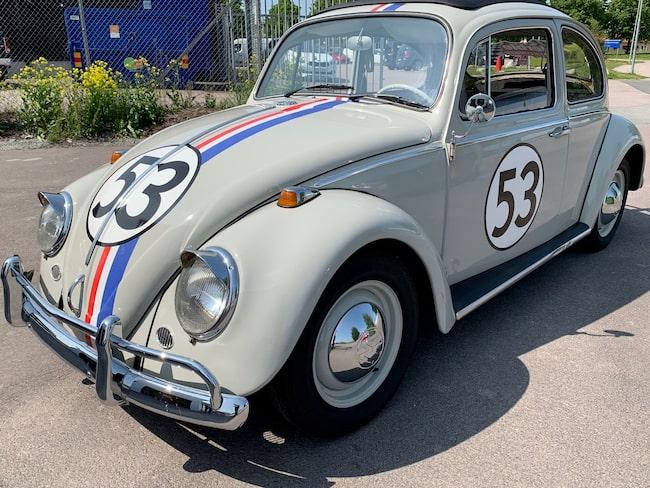 Nu kan du köpa dig en filmstjärna. Huvudrollsinnehavaren från Herbie-filmerna går nämligen snart under klubban.