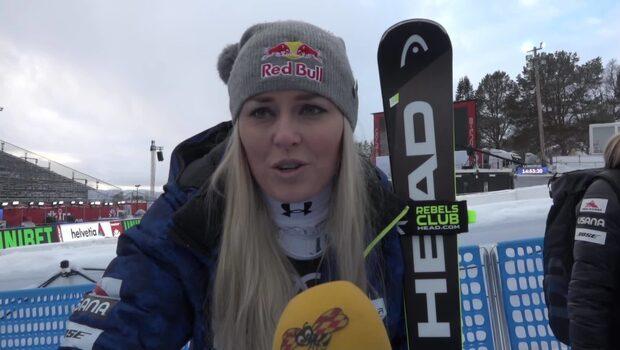 Lindsey Vonn avslutade karriären med brons och hyllade Stenmark