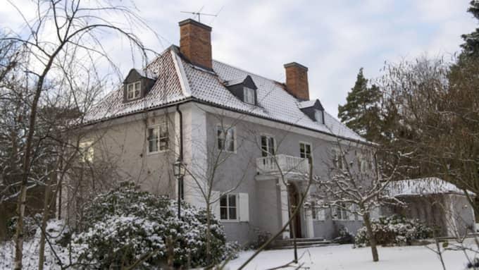 Danderyd är den mest klickade kommunen i Sverige, enligt Hemnets statistik. I det här huset i Djursholm, i Danderyd, bor Charlotte Perrelli. Foto: Stefan Söderström