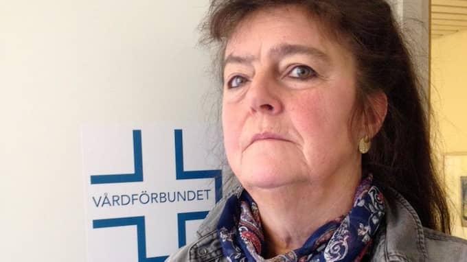 Kristina Gellingskog jobbar som psykiatrisjuksköterska nattetid och är fackligt förtroendevald för Vårdförbundet i Askim-Frölunda-Högsbo. Foto: Privat