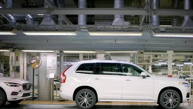 """Volvo stänger verksamhet i Sverige - """"Fordonsindustrin avstannar helt"""""""