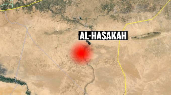 Attackerna skedde i provinsen al-Hasakah i nordöstra Syrien.
