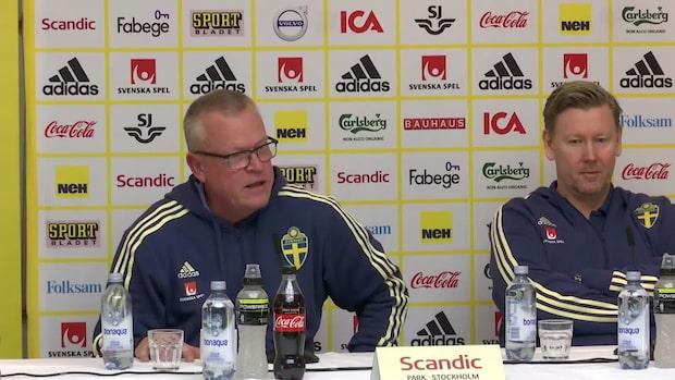 "Janne Andersson: ""Ingen begriper det"""