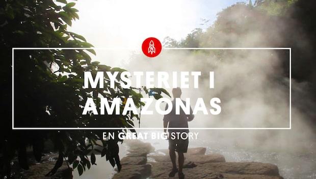Den dödliga floden i Amazonas