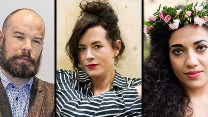 Både Daniel Suhonen, Liv Strömquist och Athena Farrokzhads texter har satts upp på teatrar.