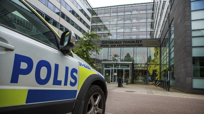 Förhandlingarna hålls i Göteborgs tingsrätt. Obs, arkivbild. Foto: HENRIK JANSSON